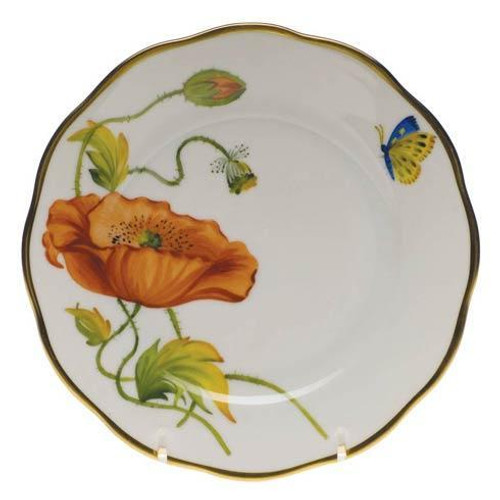 American Wildflowers California Poppy Bread & Butter Plate