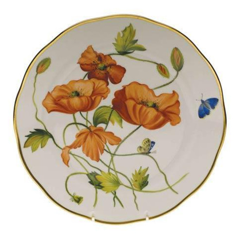 American Wildflowers California Poppy Dinner Plate