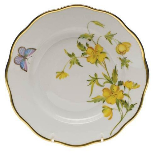 American Wildflowers Evening Primrose Salad Plate