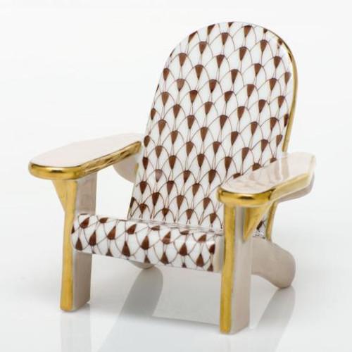 Adirondack Chair - Chocolate