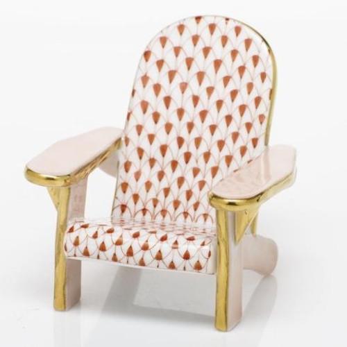 Adirondack Chair - Rust