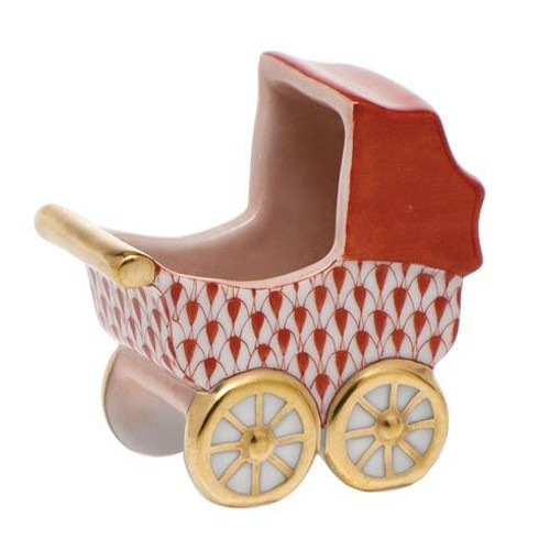 Baby Carriage - Rust