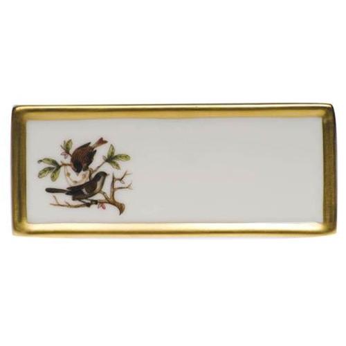 Rothschild Bird Original (no border) Place Card - Motif 04