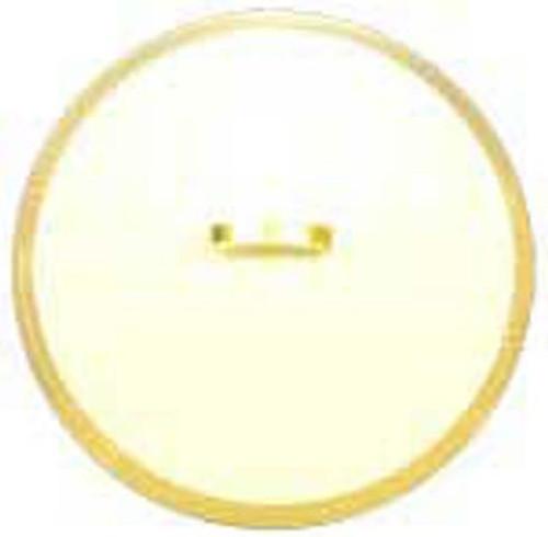 Arabesque Gold Lid for 115 ounce Open Vegetable