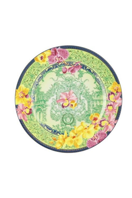 25 Years D.V. Floralia Dessert Plate