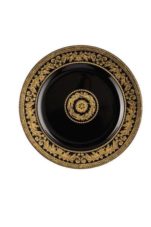 25 Years Gold Baroque Dessert Plate