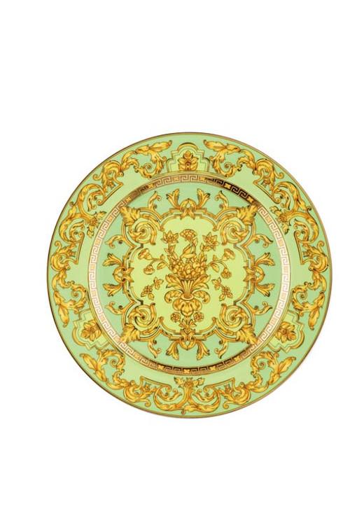 25 Years Green Floralia Dessert Plate