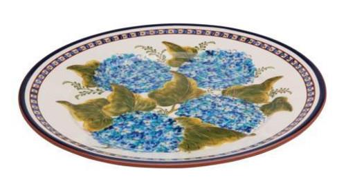 Alentejo Terracota Hortensia Medium Round Platter