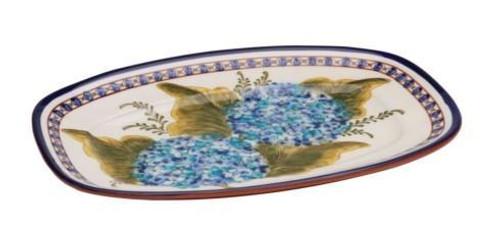 Alentejo Terracota Hortensia Rectangular Platter
