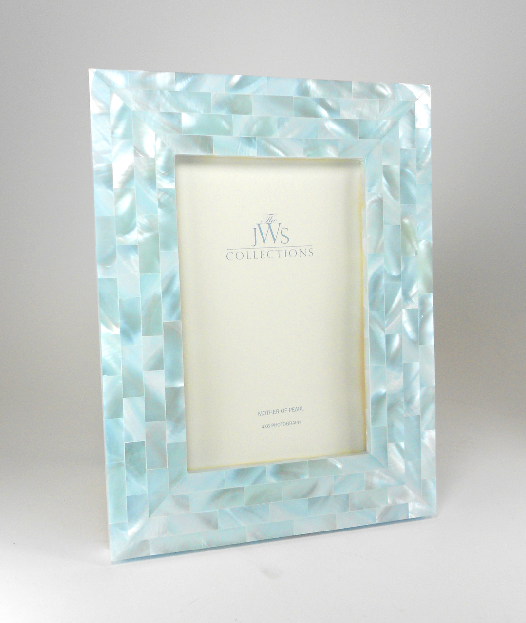 Mother of Pearl Frame   Breathtaking frame hand crafted perfect for your Sasha Nicholas wedding or gift registry