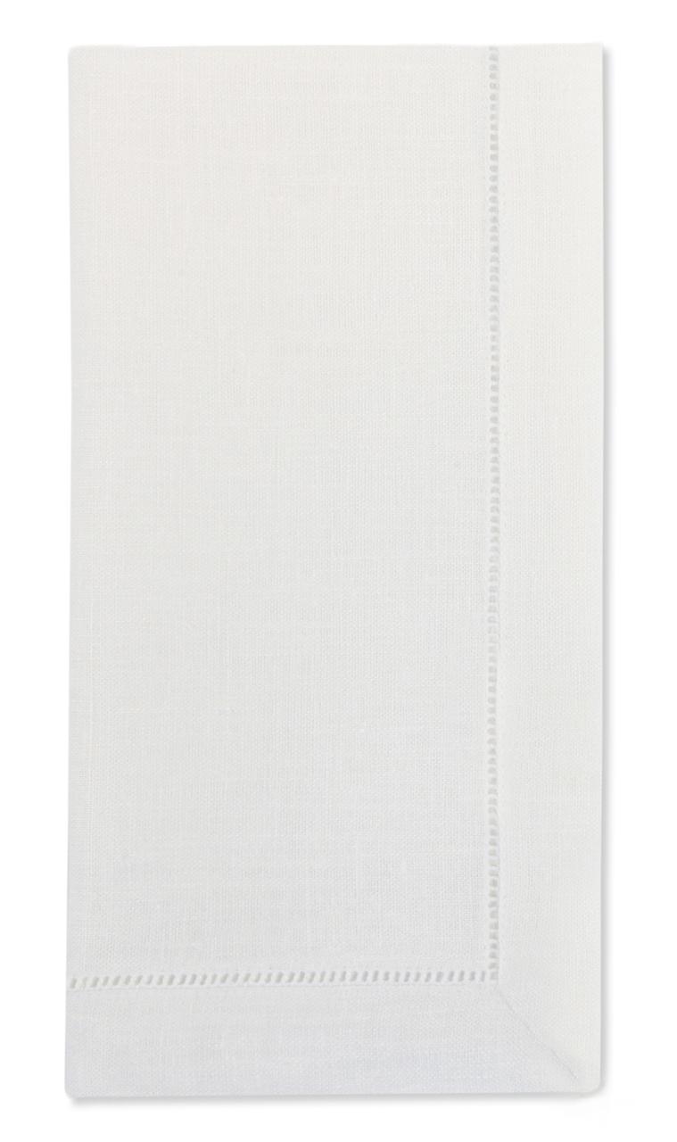 Knoepp-Mattison Festival Linen Napkin Set of 4 | White