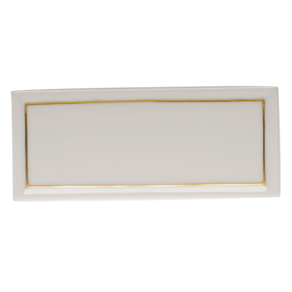 Clote-Wood Herend Place Card