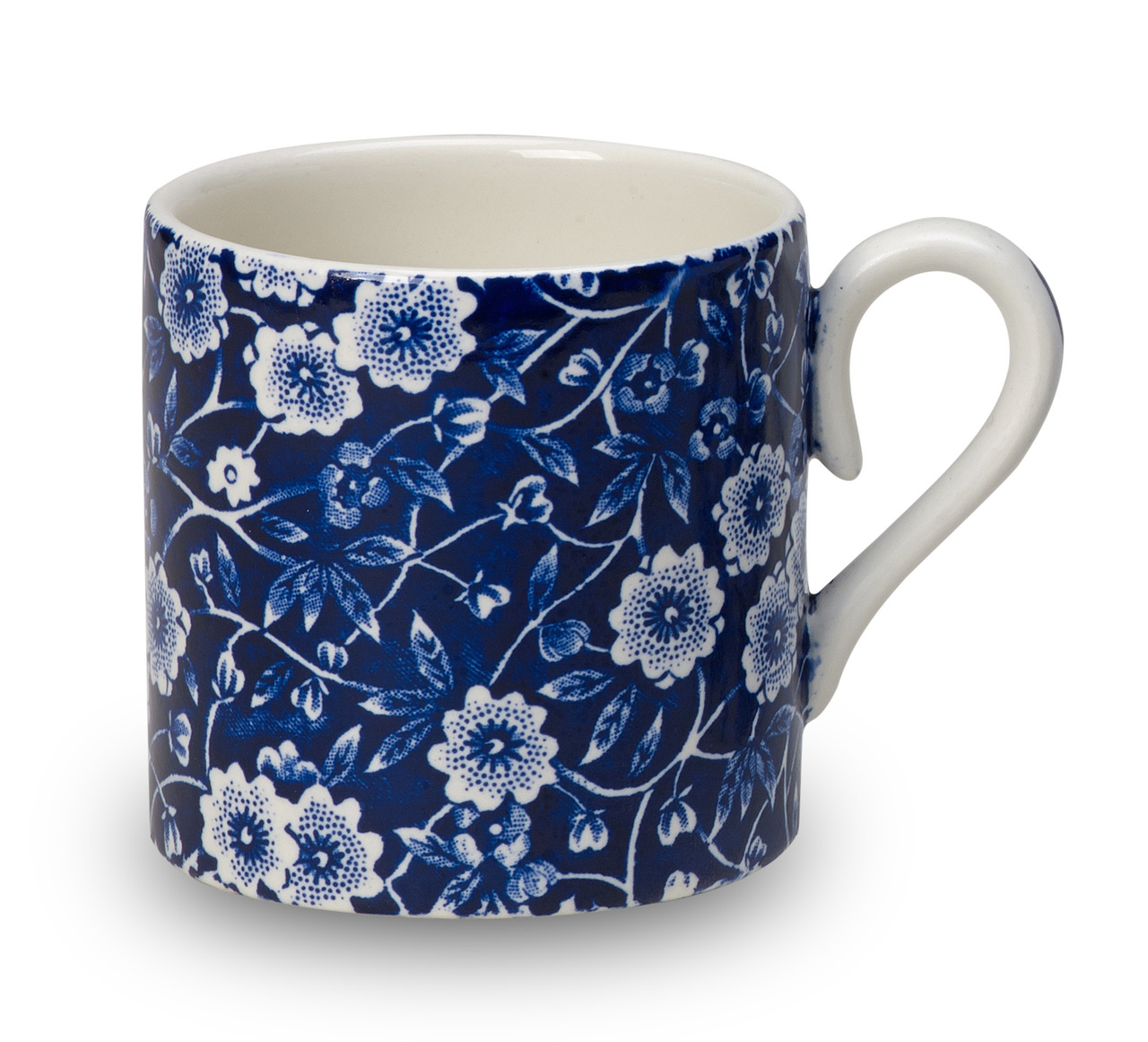 Burleigh Blue Calico | Beautiful china to adorn your tablescapes and add to your Sasha Nicholas wedding & gift registry
