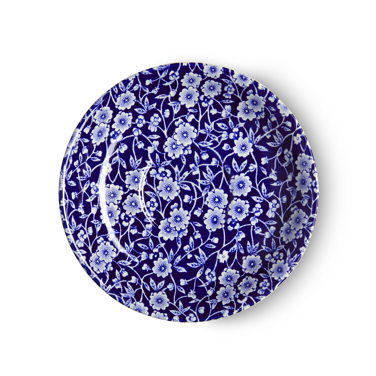 Burleigh Blue Calico   Beautiful china dinnerware to adorn your tablescapes and add to your Sasha Nicholas wedding & gift registry