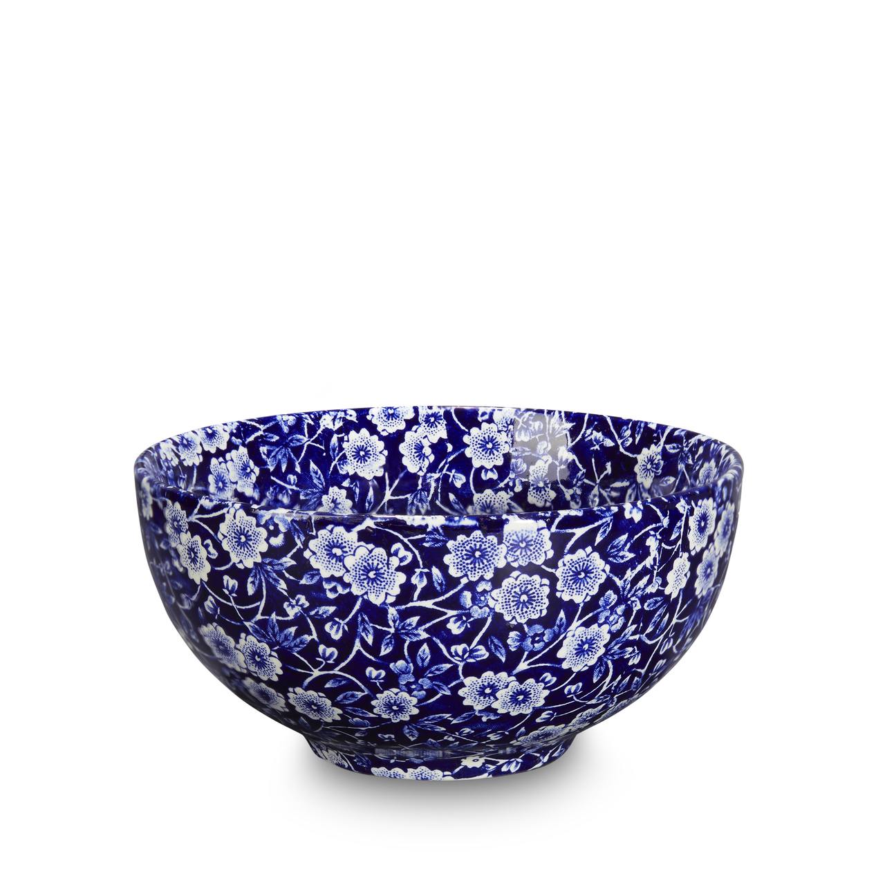 Burleigh Blue Calico | Beautiful china dinnerware to adorn your tablescapes and add to your Sasha Nicholas wedding & gift registry