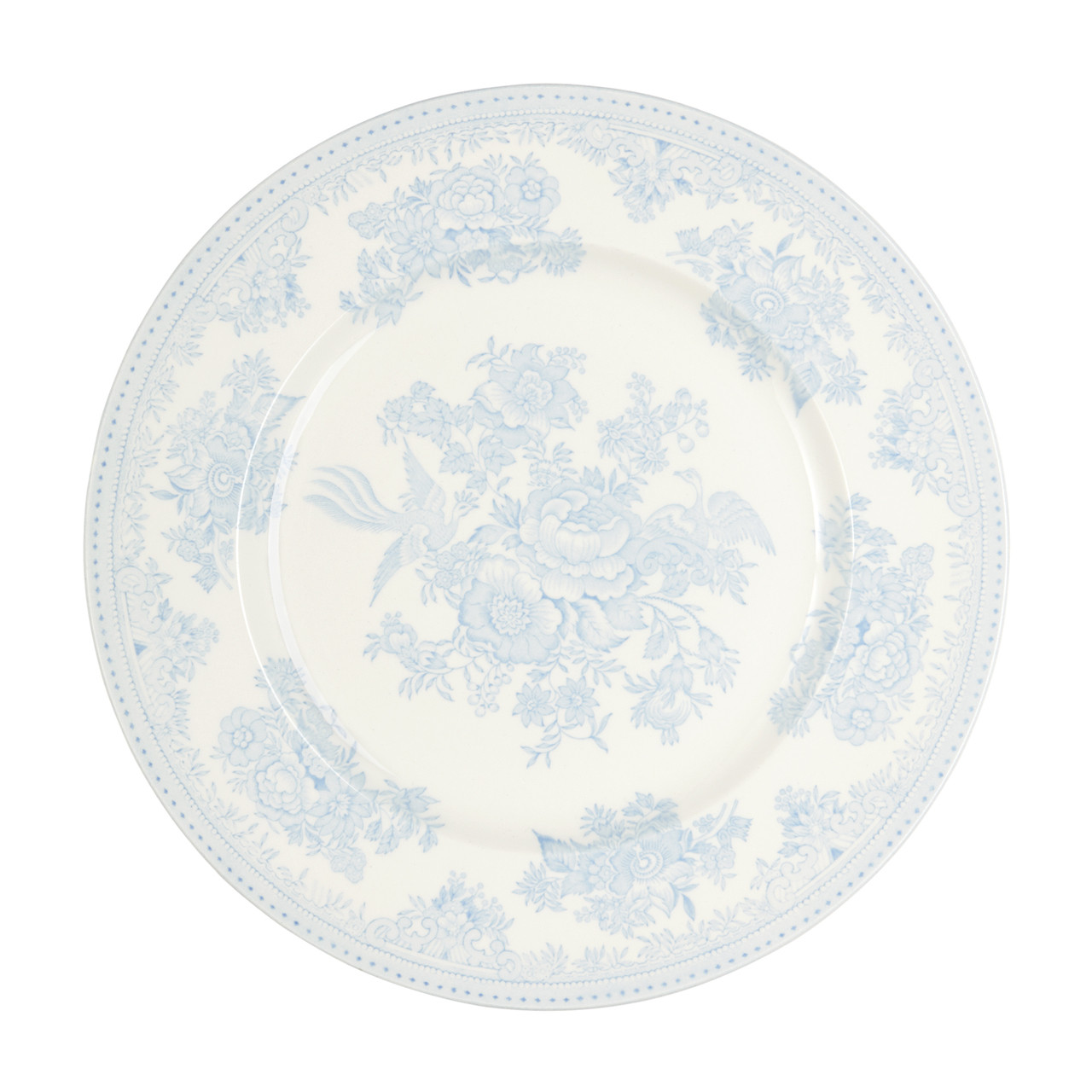 Burleigh Blue Asiatic Pheasants | Beautiful china dinnerware to adorn your tablescapes and add to your Sasha Nicholas wedding & gift registry