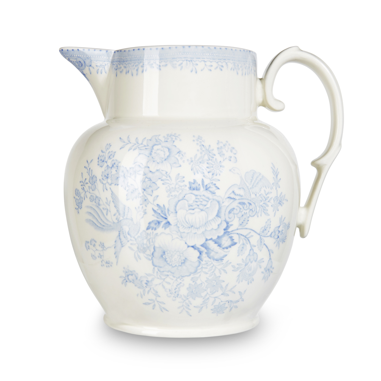 Burleigh Blue Asiatic Pheasants | Beautiful china to adorn your tablescapes and add to your Sasha Nicholas wedding & gift registry