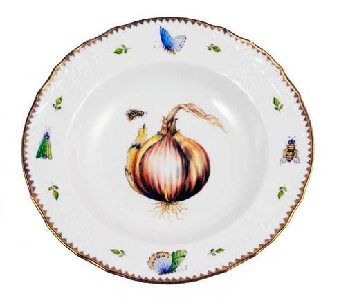 Antique Onion Rim Soup Plate