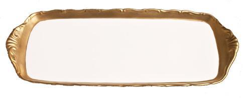 Anna's Golden Patina Tray
