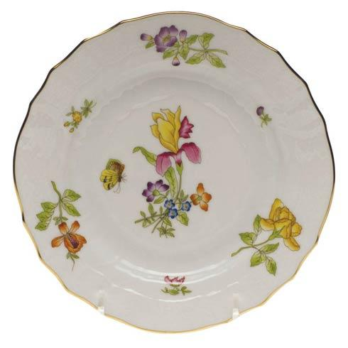 Antique Iris Bread & Butter Plate - Mo 02