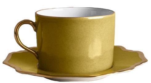 Anna's Palette Meadow Green Tea Saucer