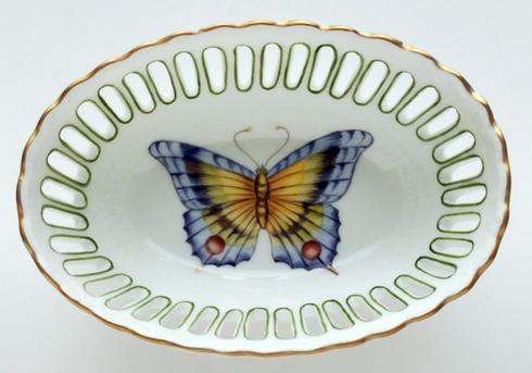 Giftware Small Oval Green Dish