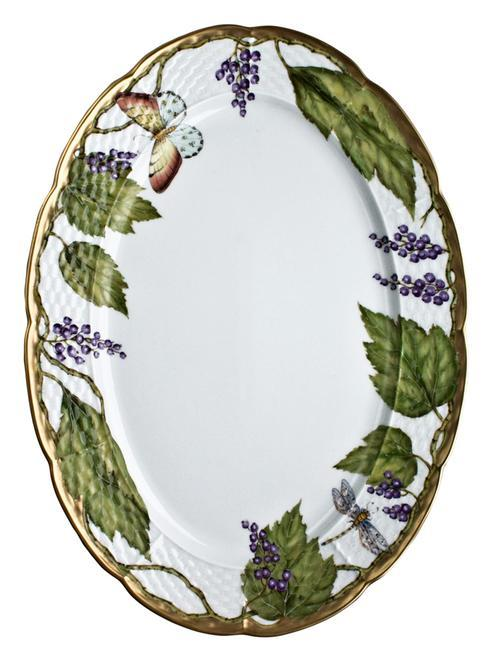 Wildberry Lavender Oval Platter