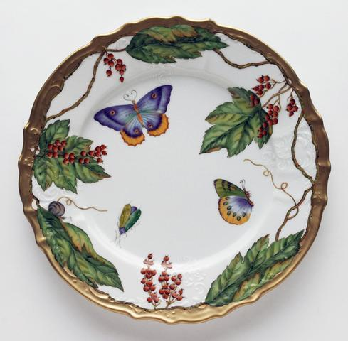 Wildberry Red Dinner Plate