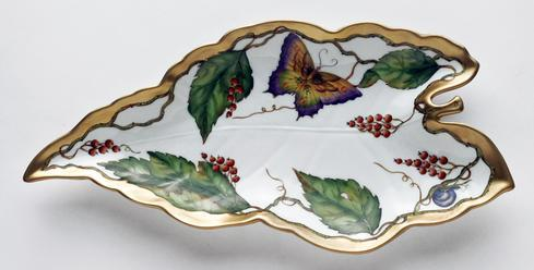 Wildberry Red Leaf Dish