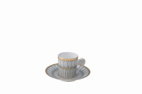 Arcades grey & gold Coffee Cup