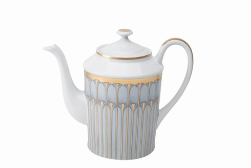 Arcades grey & gold Coffeepot