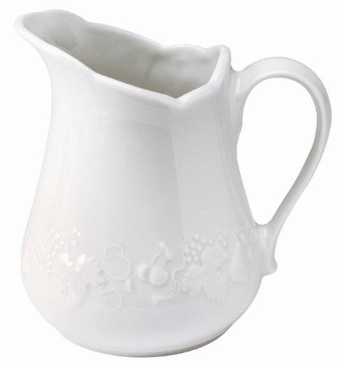 Blanc de Blanc Water Pitcher