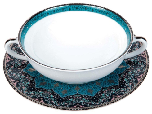 Dhara Peacock Cream Soup Cup