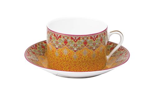 Dhara red Breakfast Saucer