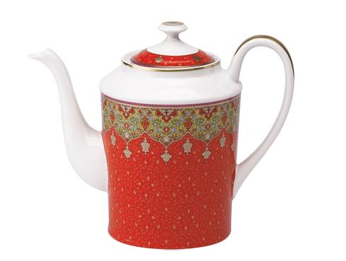 Dhara red Coffee Pot