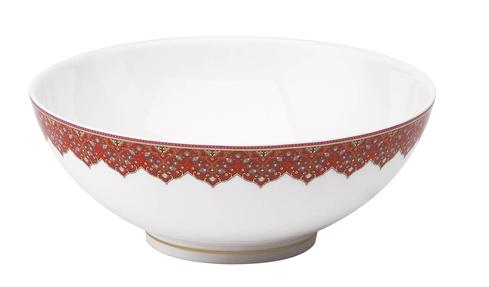 Dhara red Salad Bowl Large