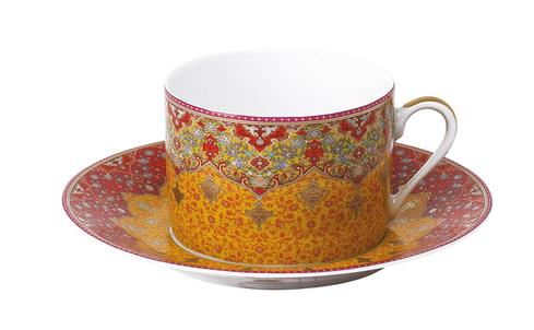 Dhara red Tea Saucer
