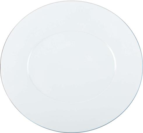 """Epure platinum filet Charger plate 13""""x12.25"""""""