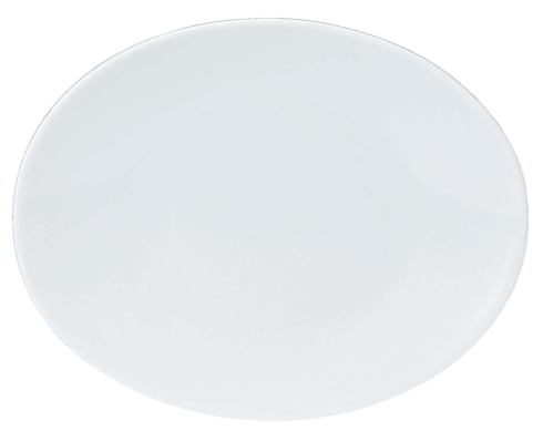 Epure white Bread & butter plate oval