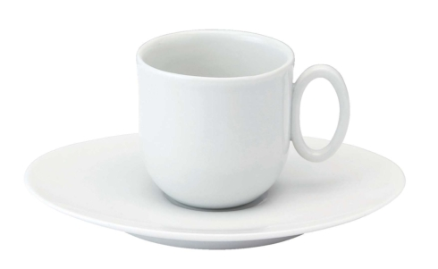 Epure white Coffee cup & saucer