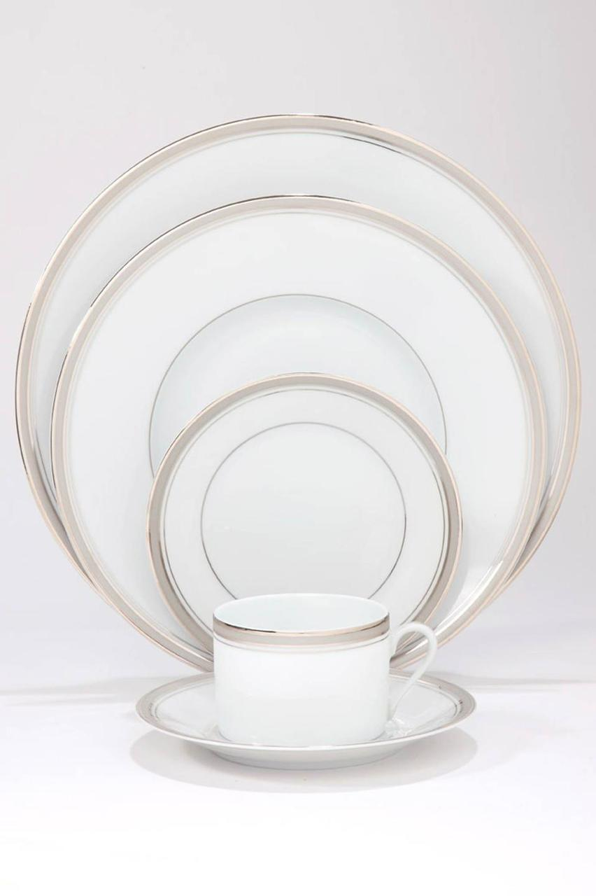 Excellence grey Breakfast Saucer