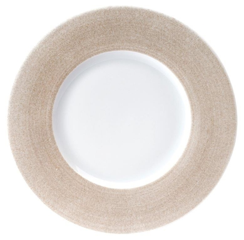 Galileum sand Dinner Plate Large Rim
