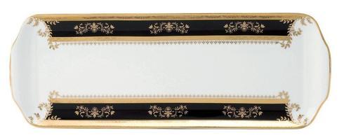Orsay black Rectangular Cake Platter
