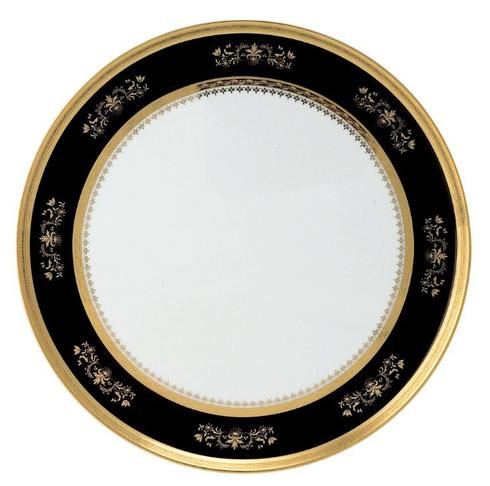 Orsay black Round Cake Platter