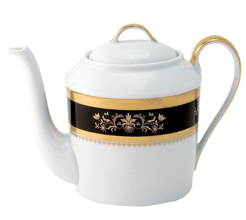 Orsay black Tea Pot