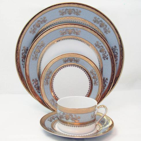 Orsay powder blue 5 Piece Place Setting *