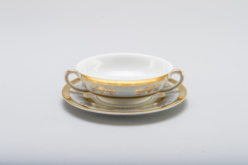 Orsay powder blue Cream Soup Cup