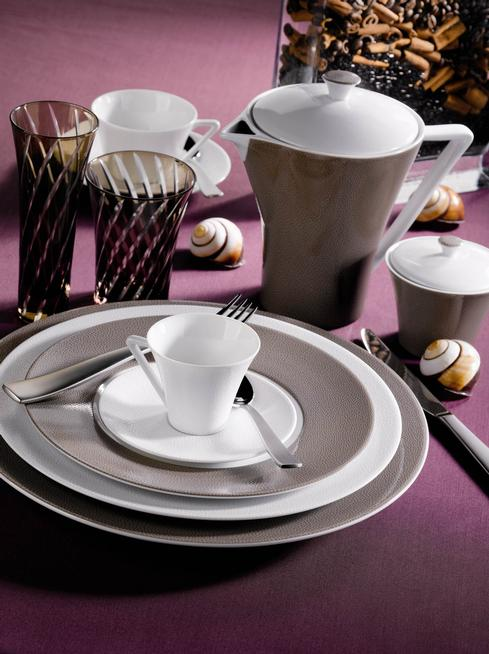 Seychelles taupe 5 Piece Place Setting *