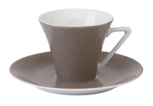 Seychelles taupe Coffee Saucer