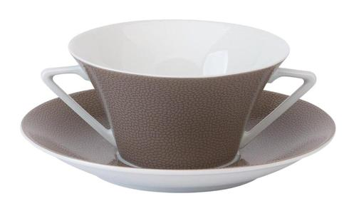 Seychelles taupe Cream Soup Saucer